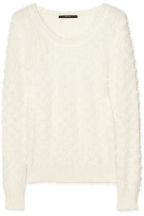 GUCCI Textured angora-blend sweater