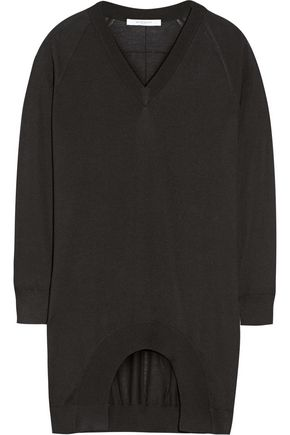 GIVENCHY Cashmere, wool and silk-blend sweater