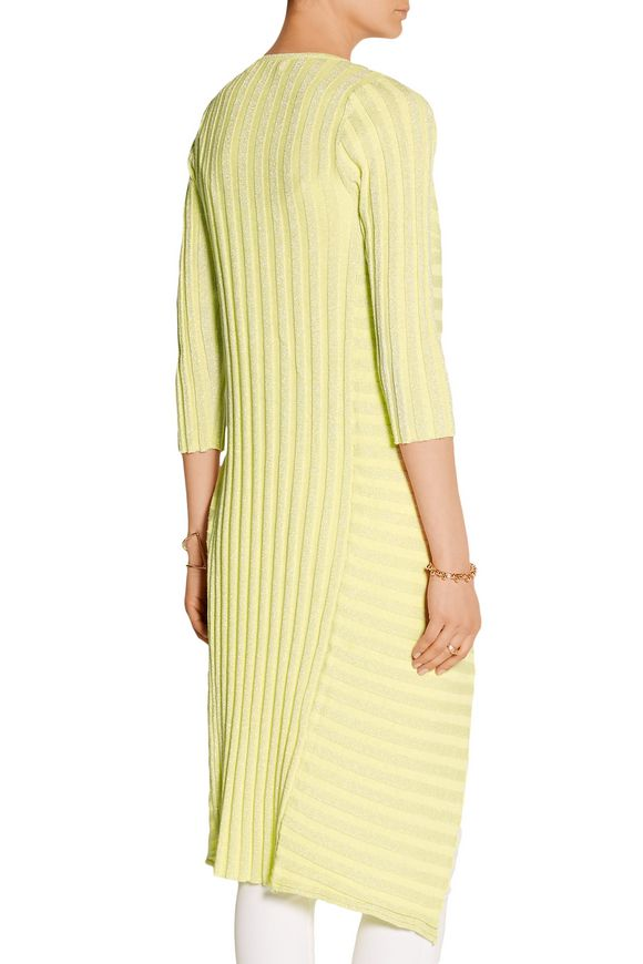 Embellished ribbed cotton-blend cardigan | RYAN LO | Sale up to 70% off |  THE OUTNET