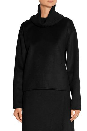 ... THEORY Gabouray cashmere and stretch-wool turtleneck sweater ...