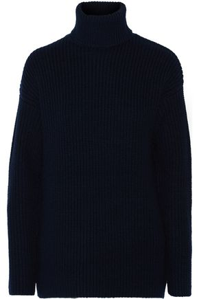 EQUIPMENT Tyson ribbed wool and cashmere-blend turtleneck sweater
