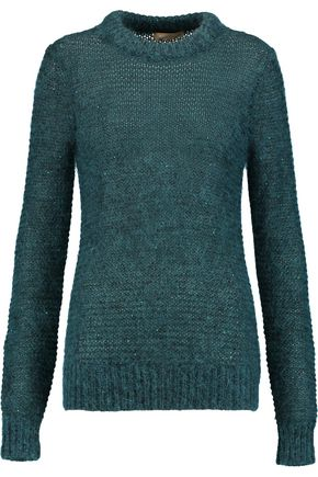 MICHAEL KORS COLLECTION Sequin-embellished open-knit sweater