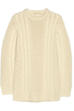 MICHAEL KORS COLLECTION Cable-knit merino wool sweater