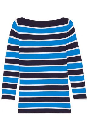 MICHAEL KORS COLLECTION Striped cashmere sweater