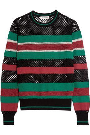 ISABEL MARANT ÉTOILE Deacon striped knitted sweater