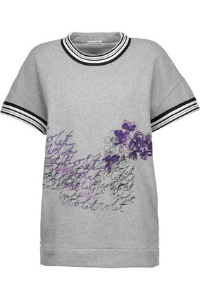 TOMAS MAIER Embroidered cotton sweatshirt