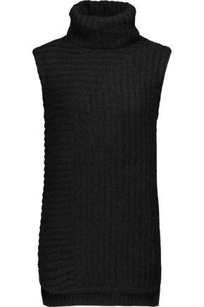 THEORY Beylor ribbed-knit turtleneck sweater