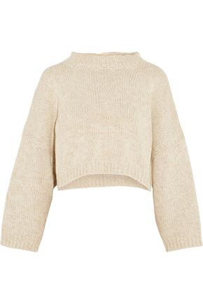 J.W.ANDERSON Tie-back stretch-knit cotton sweater
