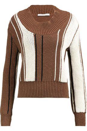 J.W.ANDERSON Color-block cotton-blend sweater