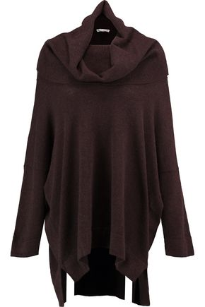 WOMAN CASHMERE SWEATER BROWN