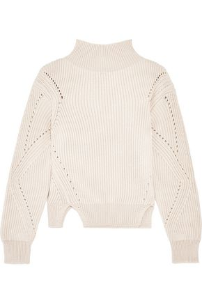 8 Ribbed wool sweater