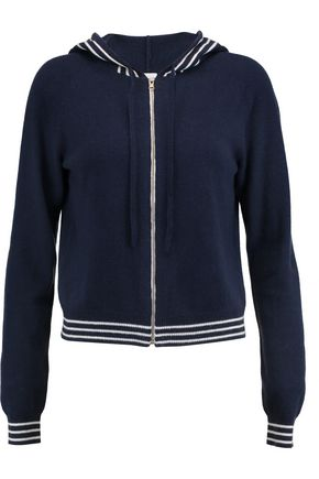 MADELEINE THOMPSON Icaria wool and cashmere-blend hooded cardigan