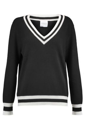 MADELEINE THOMPSON Hydra striped wool and cashmere-blend sweater