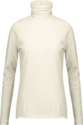 HAIDER ACKERMANN Stretch cotton and wool-blend turtleneck sweater