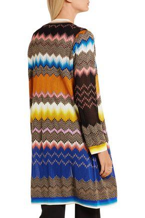 ... MISSONI Crochet-knit cardigan
