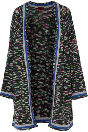 MISSONI Ribbed-knit cashmere cardigan