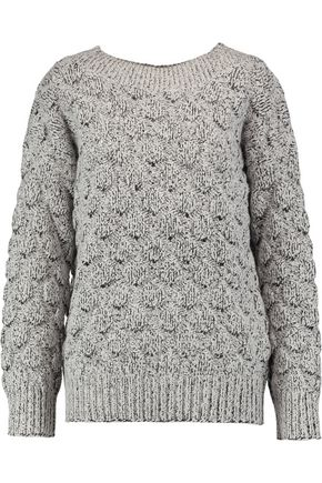 J BRAND Camelia mélange textured-knit sweater