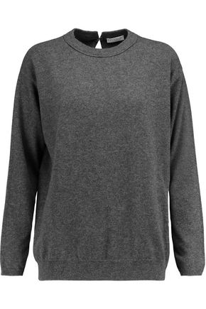 BRUNELLO CUCINELLI Chain-embellished cashmere sweater