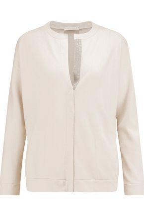 BRUNELLO CUCINELLI Chain-embellished cashmere cardigan