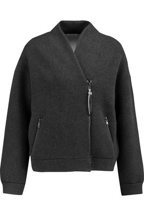 BRUNELLO CUCINELLI Wool, cashmere and silk-blend cardigan