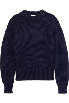 DKNY Cable-knit wool-blend sweater