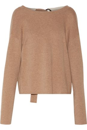PROENZA SCHOULER Tie-back cashmere-blend sweater