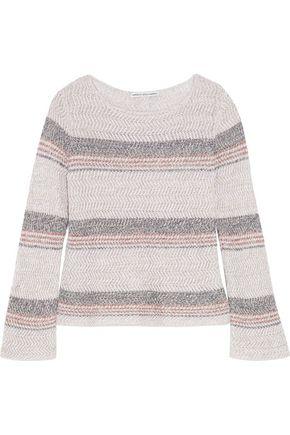 AUTUMN CASHMERE Cotton textured-knit sweater