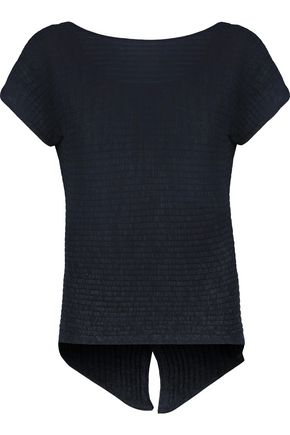 COTTON by AUTUMN CASHMERE Ribbed cotton top