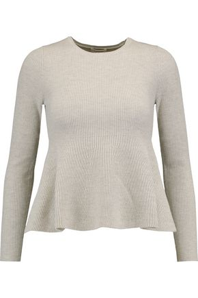 TOTÊME Fluted wool-blend sweater