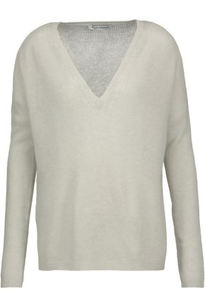 WOMAN CASHMERE SWEATER ECRU