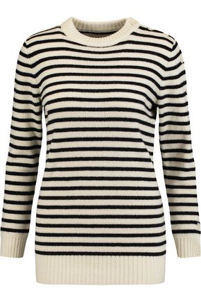MM6 MAISON MARGIELA Striped wool sweater