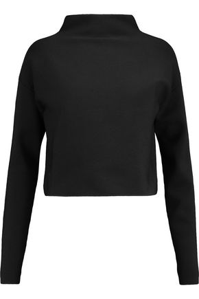 TIBI Ribbed-knit turtleneck sweater
