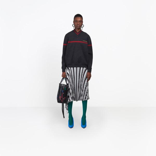 BALENCIAGA Knitwear D Long Sleeves V Neck Sweater g