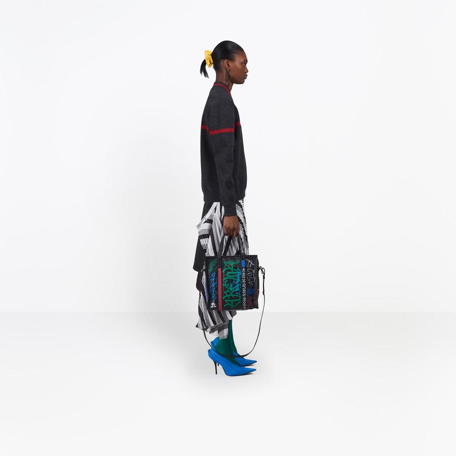 BALENCIAGA Long Sleeves V Neck Sweater Knitwear D i