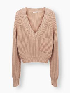 チャンキーセーター