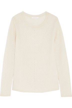 DUFFY Ribbed-knit cashmere-blend sweater