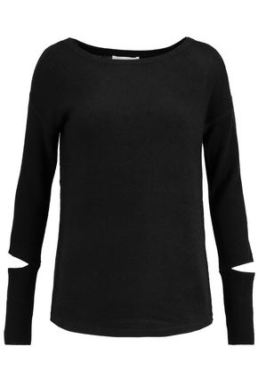 DUFFY Cutout cashmere sweater