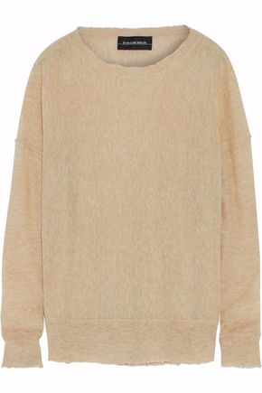 BY MALENE BIRGER Biagio brushed stretch-knit sweater