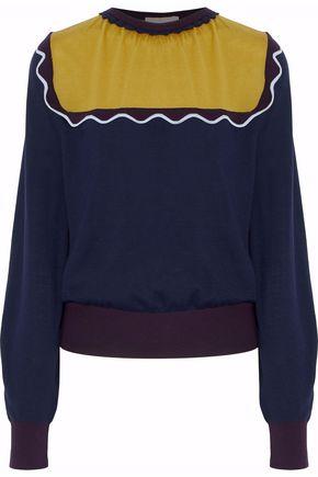 ROKSANDA Scalloped wool sweater