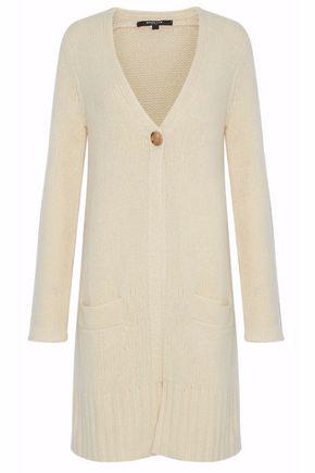 DEREK LAM Wool and silk-blend cardigan
