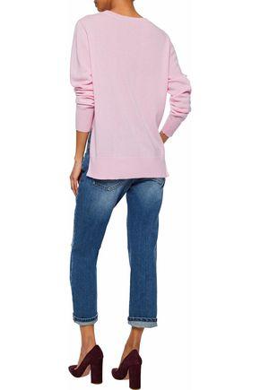 IRIS & INK Asymmetric cashmere sweater