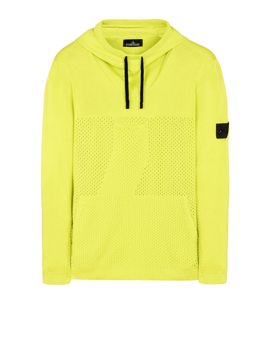 STONE ISLAND SHADOW PROJECT Jersey 502A1 DROP POCKET MESH ANORAK (100 % ALGODÓN MERCERIZADO)
