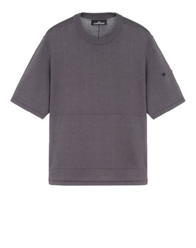 505A3 VENTED SS CREWNECK WITH ADJUSTMENT ZIPPER (MERCERIZED 100% COTTON)