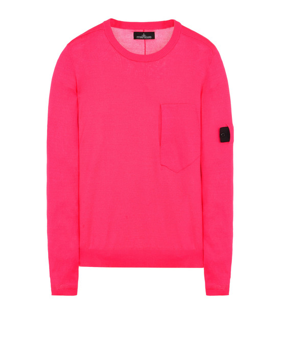 Sweater 504A3 CREWNECK VENTED SS CREWNECK (MERCERIZED 100% COTTON) STONE ISLAND SHADOW PROJECT - 0