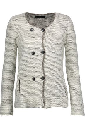 ISABEL MARANT Della double-breasted knitted cardigan