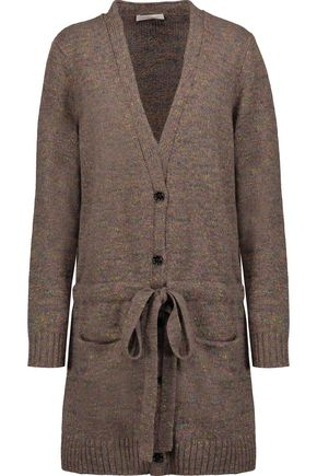 SEE BY CHLOÉ Mélange chunky-knit wool-blend cardigan