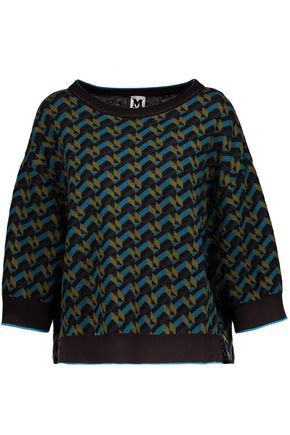M MISSONI Intarsia-knit sweater