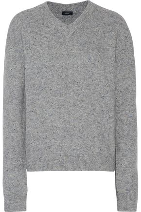JOSEPH Stretch bouclé-knit sweater