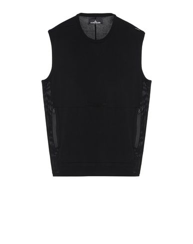 501A1 LACUNA TANK TOP WITH CHAMBER AND DROP POCKET (MERCERIZED 100% COTTON)