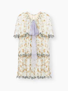 Mini robe imprimée